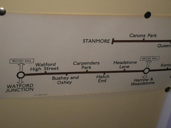 Bakerloo Line Car Diagram