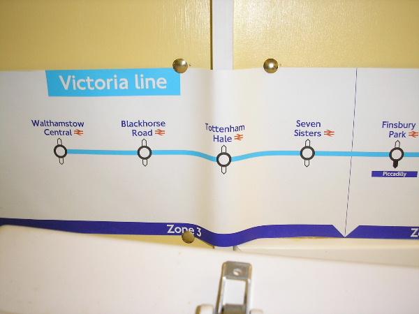 Underground Victoria Line